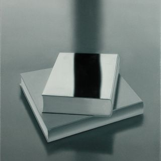 Buecher 7, 2006, 80 x 70 cm