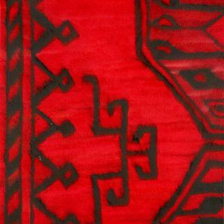 Teppich rot, 2000, 45 x 38 cm