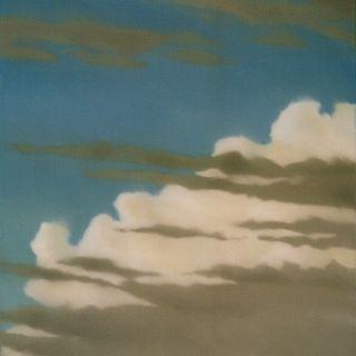 Wolken blau 3, 2000, 92 x 80 cm